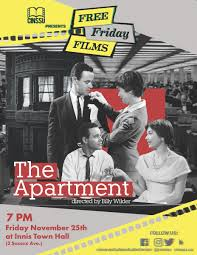 Cinssu On Twitter The Fff This Week Is The Apartment A Film By