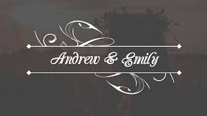 Wedding Title Template Wedding Title After Effects Templates
