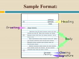 All Types Of Letter Format Pdf Letter Writing