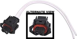 amazon com apdty 133821 wiring harness 2 wire pigtail connector apdty 133821 wiring harness 2 wire pigtail connector fits numerous components including 6 6l duramax
