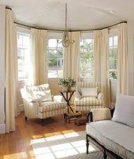 Curved Curtain Rods For Bay Window - We Need These Our Dining Room And  Living Pinterest