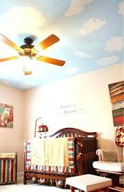 ceiling fan in baby room s nursery