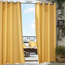 valuable outdoor curtain panels gazebo bright solid color indoor outdoor curtain panels 120 length 84 home depot for patio sunbrella 96 with grommets