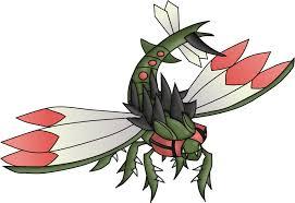 Pokemon 8469 Mega Yanmega Pokedex Evolution Moves