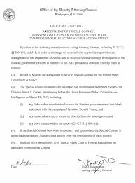 House Bill Of Sale Template Cool Rod Rosenstein's Letter Appointing Mueller Special Counsel The New
