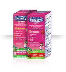 Benadryl Dosage Charts For Infants And Children