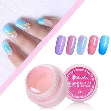 details about 5g ur sugar soak off clear bubble uv gel polish nail glue for nail art tips diy