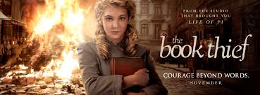 the book thief movie bookbond the book thief the movie image of liesel holding a book