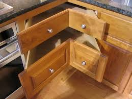corner kitchen furniture. kitchen cabinet riveting corner with satin nickel decorative knobs also light oak furniture