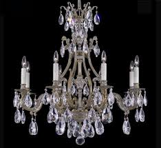 cau collection 8 light large brass crystal chandelier