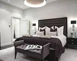 grey and black bedroom design photo - 11