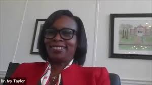 Leadership & Legacy: Conversation with Dr. Ivy Taylor '92, President of  Rust College - YouTube
