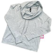 Yogalicious Size Chart Yogalicious Cowl Neck Sweater Nwt