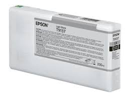 <b>Epson Epson T9137</b> - 200 ml - <b>light</b> black - original - ink cartridg ...
