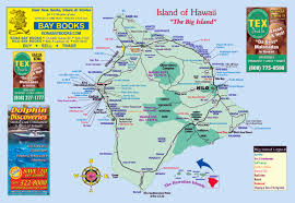 big island visitor magazine  big island maps