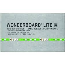 custom building products wonderboard lite 5 ft x 3 ft x 1 4
