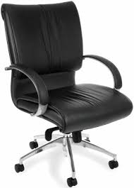 padded office chair. Perfect Padded OFM Executive Leather MidBack Office Chair W Padded Arms Inside