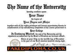 fake diploma fake degrees any college or university highest original creations of any replica diplomas or fake degrees more samples are found on our samples page