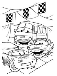 Directors used for mcqueen number 95 because it is the date of the first successful pixar film. Cars Free To Color For Kids Cars Kids Coloring Pages