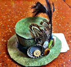 Decorating With Hats Felt Top Hats And A Wonderland Party Busy Mockingbird