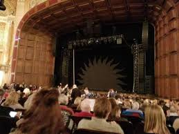 Benedum Center Section Orchestra Rc Row P Seat 32