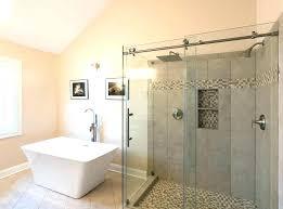barn style shower door barn door shower door barn door shower doors sliding glass black not barn style