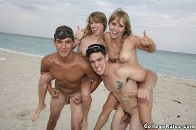 Break college naked spring