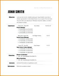 Template For Resume Free – Foodcity.me