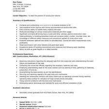 Handyman Resume Sample Amazing Objective Images Simple Office