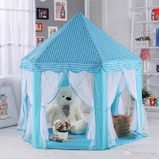 Kids Play Tents Prince Princess Party Tent Children Indoor Outdoor Tent Big  Game House Three Colors Play Tents And Tunnels For Toddlers Little Girls  Play ...