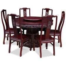 round dining table with chairs chinese rosewood and dr