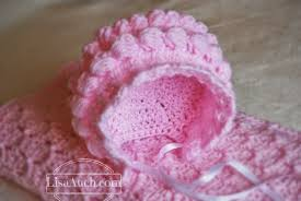Baby Bonnet Pattern Stunning Free Crochet Patterns And Designs By LisaAuch Baby Bonnet Crochet