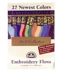 Dmc Embroidery Floss Chart Dmc Embroidery Floss Pack 27 New Colors
