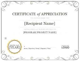 Volunteer Of The Month Certificate Template Outstanding 1 Award