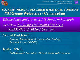 Ppt U S Army Medical Research Materiel Command Mg