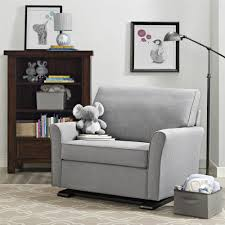 the roomy oversized design of the bertini reese chair and a half will be your favorite place to read relax spend time and soothe your baby