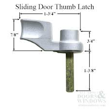 full image for sliding screen door lock replacement sliding door thumb turn choose color pella sliding