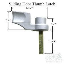 full image for sliding screen door lock replacement sliding door thumb turn choose color pella sliding