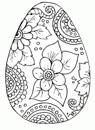 Have fun with these printable easter coloring pages! Free Easter Egg Coloring Pages Coloring Home