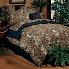 Amazon Leopard Print plete Bedding Set Extra Long Twin
