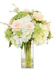 Creative Displays And Designs Inc Amazon Com Creative Displays Cream Hydrangeas Green Queen