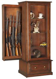 Amazon.com: American Furniture Classics 611 10 Gun/Curio Slider ...
