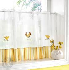 Sunflower Kitchen Curtains For Kitchen Red Kitchen Curtains Modern Kitchen