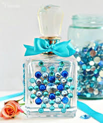 How To Decorate Perfume Bottles How To Recycle Perfume Bottles DIY Crafts OneHowto 12