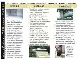 Khakibelt.com - Khaki Belt Services Brochure
