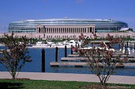 Soldier Field Chicago Bears Seating Chart Soldier Field Chicago Il Stadiums Wheres My Seat