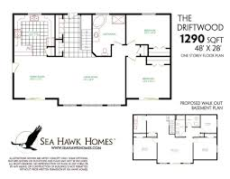 basement foundation design. Ranch Floor Plans With Walkout Basement Ahscgs Com Cottage Top Nice Home Design Si: Foundation