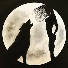 Image result for wolves howling at moon