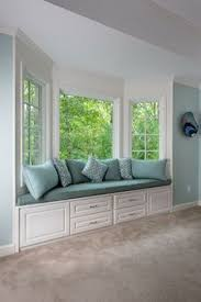 love the idea of a bay window seating area in the master bedroom bay window seat