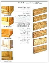 base moulding ideas cabinet for kitchen cabinets door baseboard trim molding